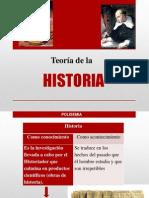 Teoria de La HISTORIA Miguel Angel Romero