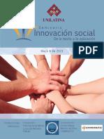 Memorias Seminario de Innovacion Social Unilatina
