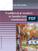 Traditional Si Modern in Familia Rurala Romaneasca