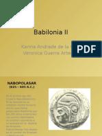 Babilonia II Final