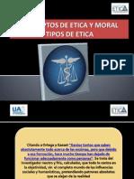 Conceptos de Etica Moral y Tipos de Etica