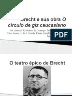 O teatro épico de Brecht