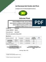 TRATAMIENTO DE AGUAS RESIDUALES TEXTILES LANERAS INDUSTRIALES MEDIANTE ELECTROCOAGULACIÓN A NIVEL DE LABORATORIO F.I.Q. U.N.C.P.