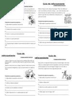 Guía de Reforzamiento Lenguaje 2014