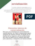 Comercialización diapositiva
