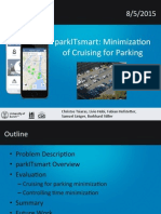 parkITsmart presented at ICCCN 2015