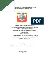 RESUMEN EJECUTIVO DE PROYECTO DE ROBOTICA MAYS.doc
