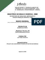 MME(2009) Perfil Da Mineraxo de Ferro
