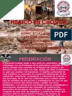 EXPOSICION CHOSICA-GEOLOGIA