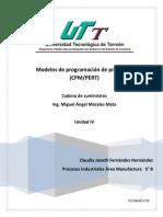 Modelos de programación de proyectos /CPM/PERT)