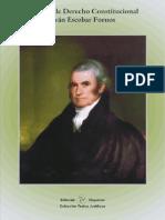 Manual de Derecho Constitucional - Dr Ivan Escobar Fornos
