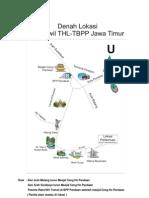 Peta Lokasi_Rakorwil THL TBPP Jatim 2010