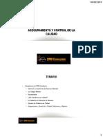 Aseguramiento y Control de La Caliadad