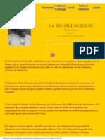 La Vie Silencieuse the Silent Life