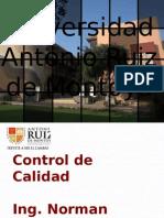 Control Calidad - Unidad 7 - Cartas Cusum, Ewma,Arima, Estado de Un Proceso