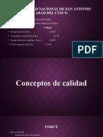 Conceptos de Calidad Expo Software