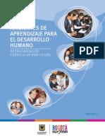 Ambientes de Aprendizaje Para El Desarrollo Humano