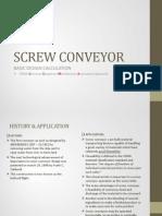 2 Screw Conveyor AUGER