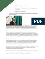 Anuncian Nuevas Leyes Para La Reforma Al Campo