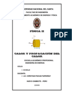 Ejercicios Calor y Propagacin Del Calor
