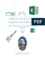 Manual de Sistema Tramite Documentario