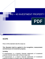 Ias – 40 Investment Property