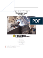 Project High Steel Final Report