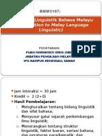 Pengantar Linguistik Bahasa Melayu
