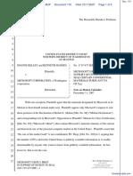 Kelley v. Microsoft Corporation - Document No. 110