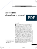 Arte Indígena, El Desafio de Lo Universal