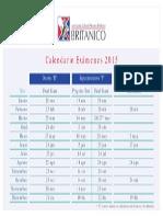 2015 Calendario Examenes Web