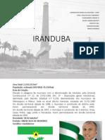 DIAGNÓSTICO  URBANO- IRANDUBA