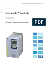 WEG Cfw700 Manual de Programacao e Manutencao 10000796176 1.0x Manual Portugues Br