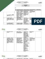 Geografía Dosificación Anual Secundaria