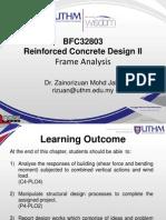 Chapter 2.0 - Frame Analysis