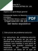 Organización Párrafos T.ex.