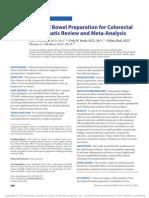 Oral Mechanical Bowel Preparation for Colorectal.11
