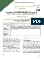 Degree of Pathologic Tooth Migration