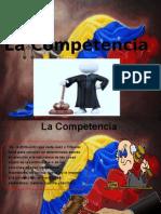 La Competencia Del Proceso Civil