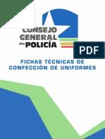 Fichas Técnicas de Confección de Uniformes