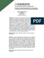 Artículo Diseño y Desarrollo de Ambiente Virtual de Aprendizaje AVA Como Apoyo a La Formación Presencial, Ofrecida Por El Servicio Nacional de Aprendizaje SENA..