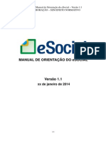 (2) Manual de Orientacao Do ESocial _ Versao 1.1