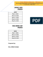 Cbc Binan Intercessory Sched