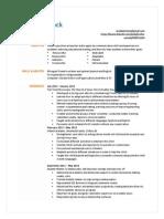 resume 2 0