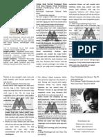 Leaflet Lawan kekerasan seksual pada anak