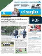 Edición Impresa El Siglo 06-08-2015