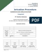 Fabrication Procedure