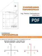 Clase Coordenadas Topográficas
