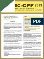 Atençao Farmaceutico Para o Uso Racional de Antimicobrianos