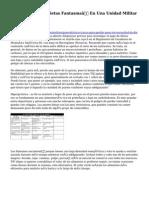 """El Juez Investiga Dietas Fantasma"""" En Una Unidad Militar En Navarra"""
